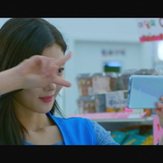 셀카 찍는 샛별이 김유정 표정